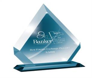BankerMiddleEast-BestForeignExchangeProvider-2014
